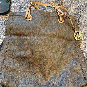 Brown Michael Kors Tote Bag